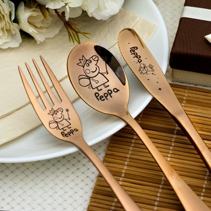 Vaikiškas stalo įrankių rinkinukas Peppa